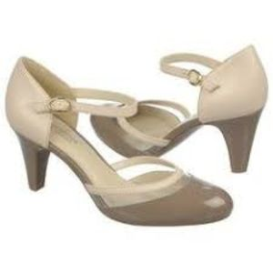 NEW! Naturalizer Clear Cap Toe Pump-Octive
